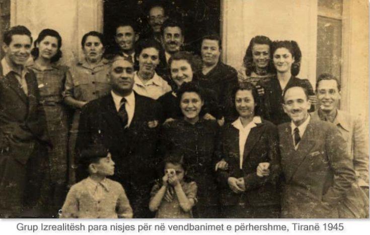 Hebrejte, Tirane 1945