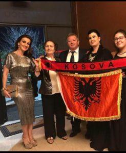 1 albanian flag