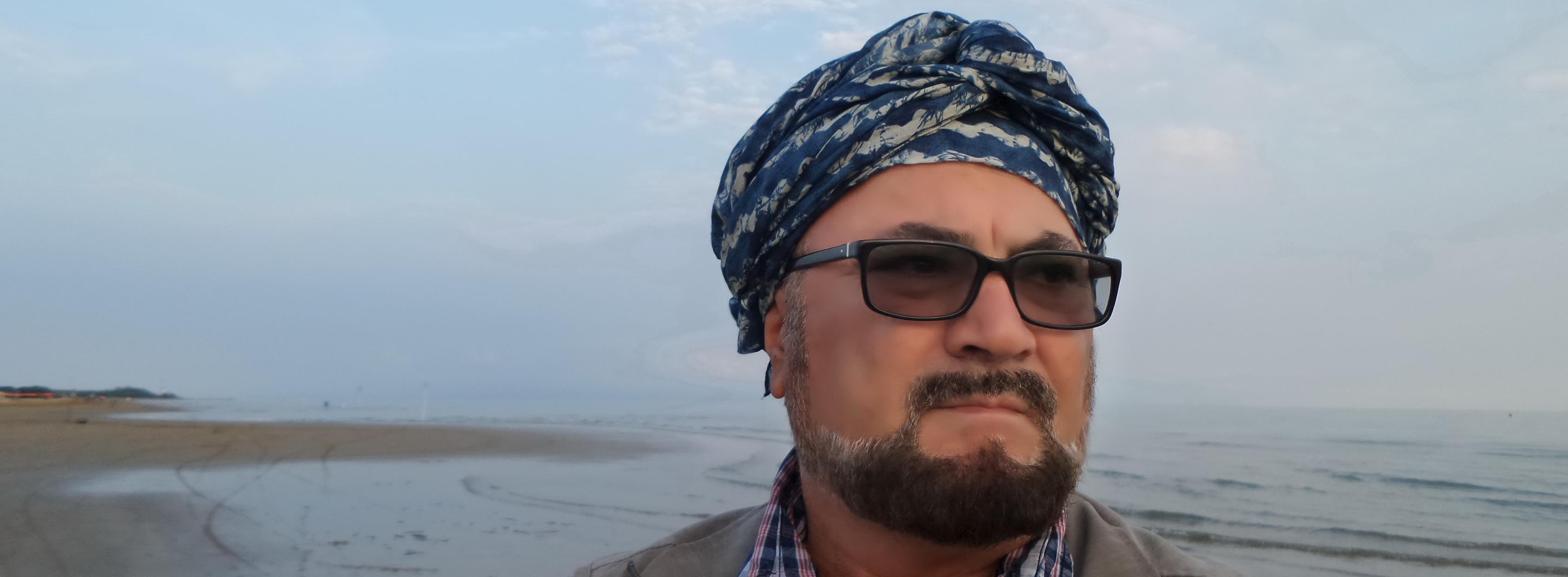 Shkrimtari Shpend Sollaku Noé në Bibione