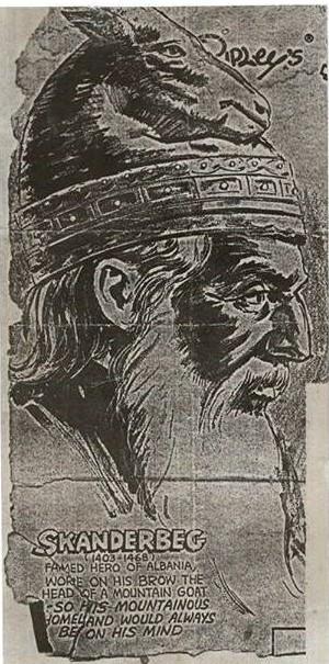 1 Skenderbeu Portret