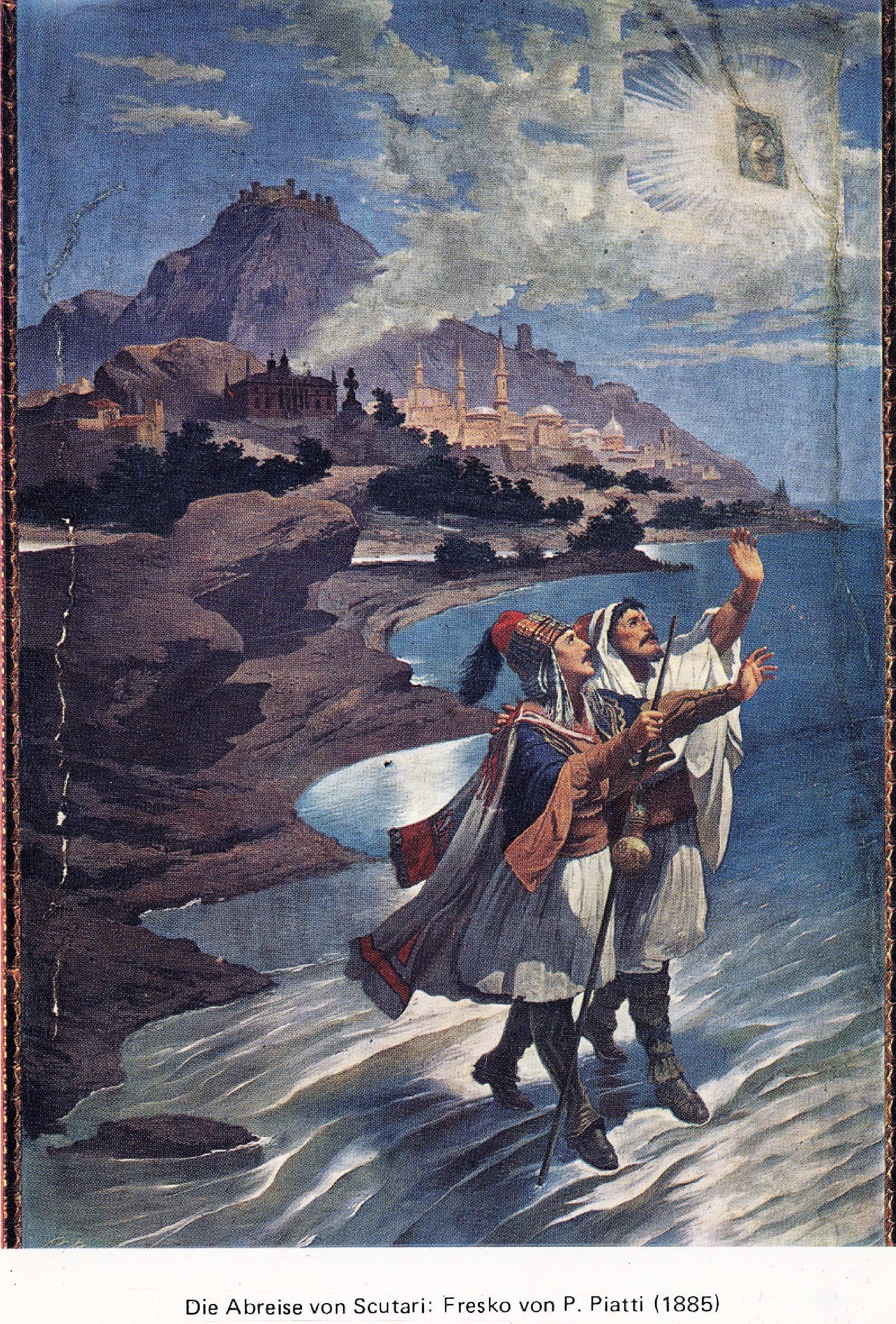 4 IKJA E ZOJËS Piktura murale në Genazzano